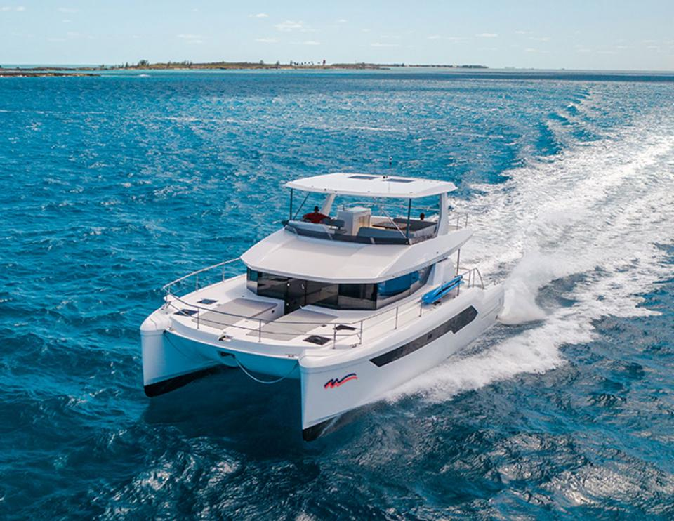 Moorings Power Catamaran