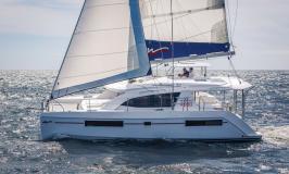 Moorings 4000 Sailing