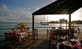 Grenada waterfront restaurant
