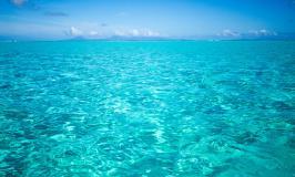 Tahiti turquoise water