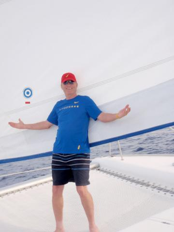 Moorings yacht owner Rob