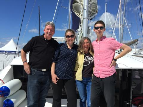 Moorings 4400 charter boat owners